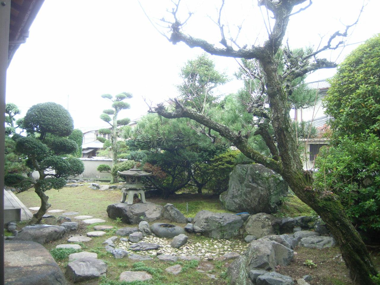 剪定 愛そう日本庭園 BEFORE