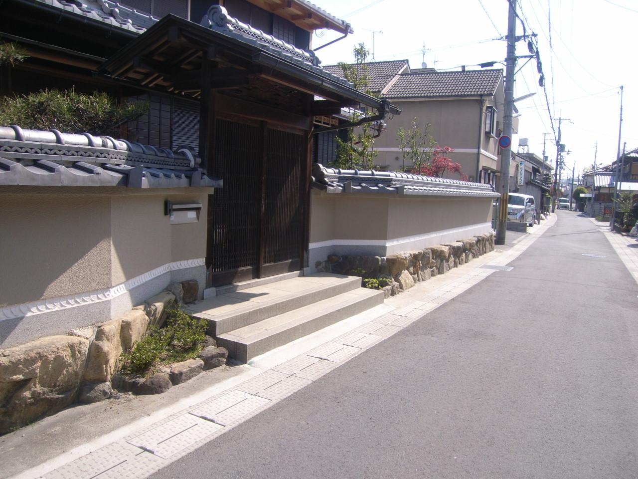 四季折々の庭木を楽しむ日本庭園 石組工事 AFTER
