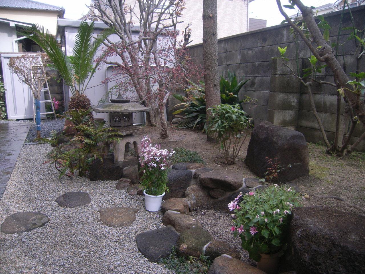 日本庭園プチリメイクのご依頼 AFTER