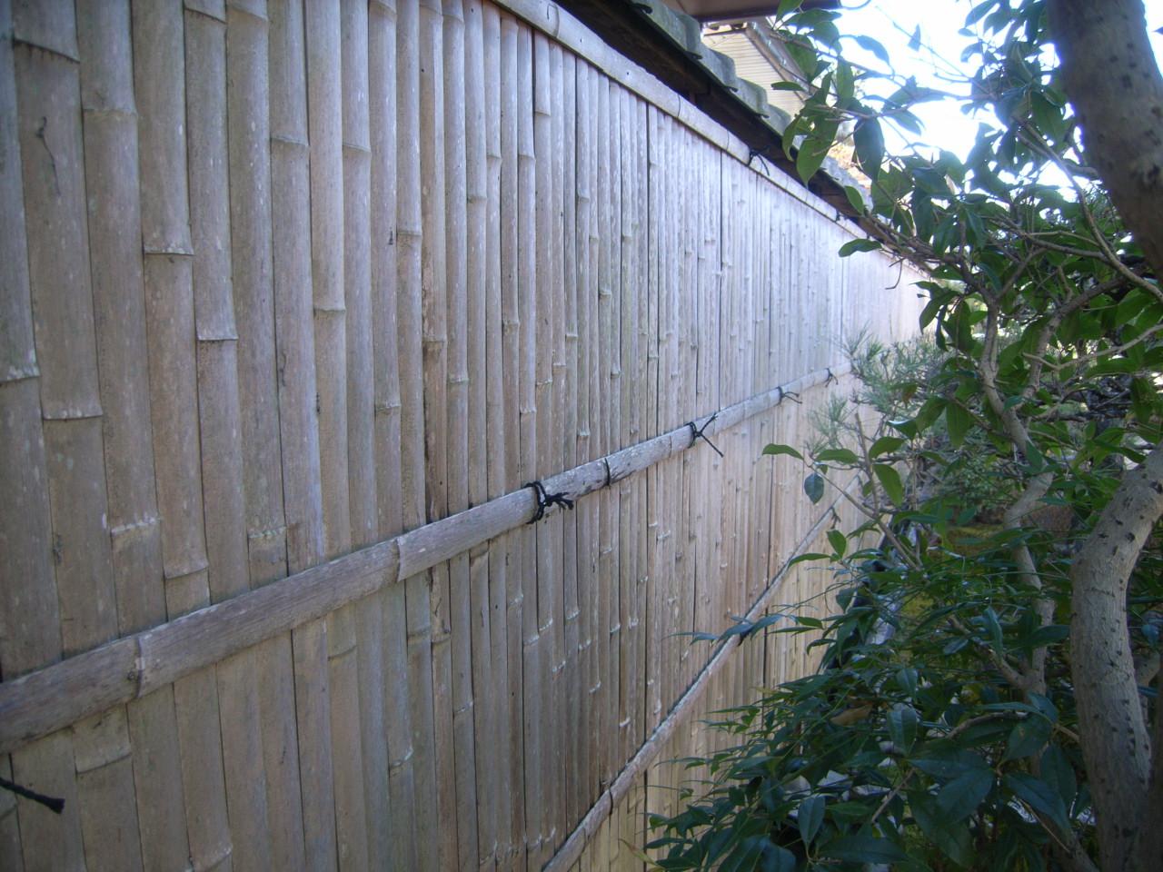 作庭 竹工事~天然ならではの風情あるお庭~ BEFORE