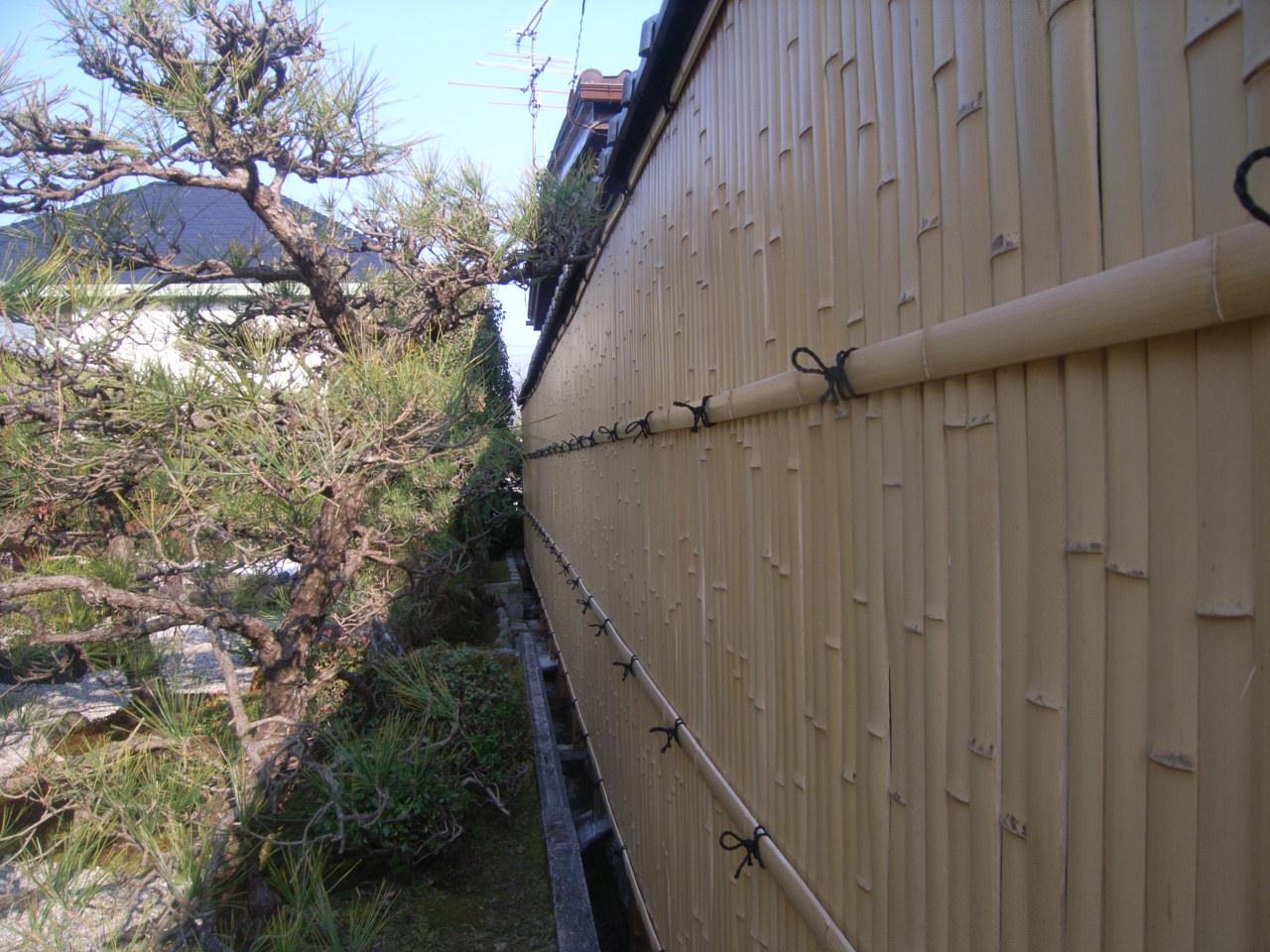 作庭 竹工事~天然ならではの風情あるお庭~ AFTER